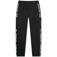 A Bathing Ape Side Tape Stretch 6 Pocket Pant Black