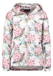 Gant Spring Flower Summer Jacket Putty Multicoloured