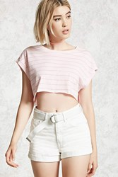Forever 21 High Rise Cuffed Shorts