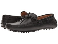 Emporio Armani Driver Moccasin Black Men's Shoes