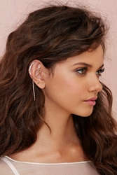 Nasty Gal Total Eclipse Rhinestone Ear Cuff Set
