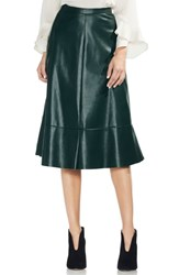 Vince Camuto Faux Leather Skirt Hunter
