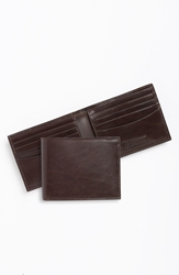 Trafalgar 'Cortina' Bifold Wallet Dark Brown