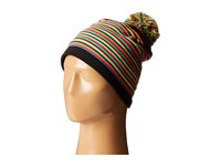 Spyder Stripes Hat Black Multi Beanies