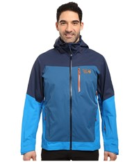 Mountain Hardwear Dragon's Back Jacket Navy Dark Compass Men's Coat Blue