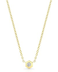 Ron Hami Love Bolt 14K Gold Diamond Pendant Necklace