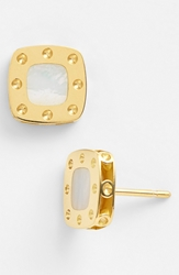 Roberto Coin 'Pois Moi' Mother Of Pearl Stud Earrings Mother Of Pearl Yellow Gold