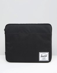 Herschel Supply Co Anchor Sleeve For Macbook 13In In Black Black