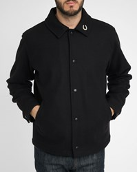 Gloverall Black Pin's Small Collar Woollen Cloth Jacket