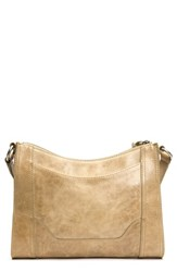 Frye Melissa Leather Crossbody Bag Beige Sand