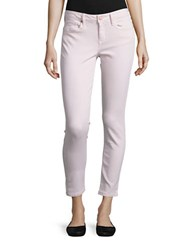 Calvin Klein Jeans Skinny Fit Ankle Length Pants Lilac Ash