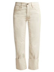 Mih Jeans Phoebe High Rise Corduroy Trousers Ivory