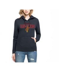 47 Brand '47 Women's Cleveland Cavaliers Headline Hooded Sweatshirt Navy