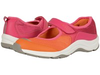 Vionic With Orthaheel Technology Action Sunset Mary Jane Pink Orange Women's Maryjane Shoes