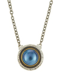 Gurhan Mixed Metal And Mabe Pearl Pendant Necklace