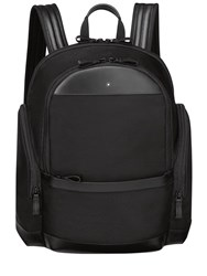 Montblanc Medium Nightflight Nylon Backpack Black