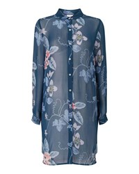 East Wednesday Print Tunic Blue