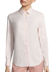 Piazza Sempione Button Down Shirt Powder Pink