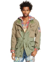 Denim And Supply Ralph Lauren Hooded Military Jacket