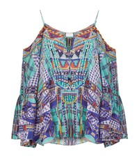 Camilla Drop Shoulder Top Female Multi