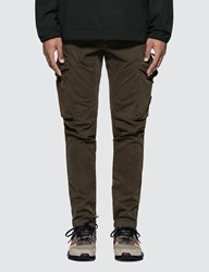 C.P. Company Cp Lens Detail Cargo Pants Green