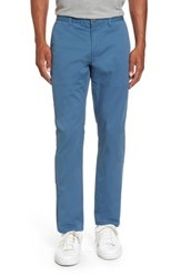 Bonobos Men's Tailored Fit Washed Stretch Cotton Chinos Real Teal
