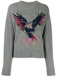 Zadig And Voltaire Eagle Jumper Grey
