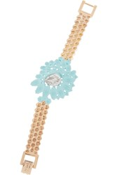 Mawi Rose Gold Plated Swarovski Crystal Bracelet