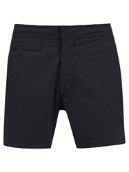Amir Slama Mid Rise Swim Shorts Black
