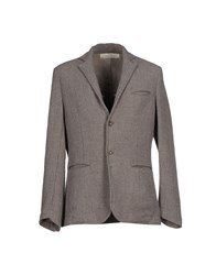 Spina Suits And Jackets Blazers Men Dove Grey