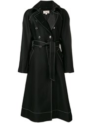 Temperley London Matilde Coat Black