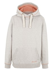 Fat Face Truro Boyfriend Hoodie Misty Surf