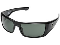 Spy Optic Dirk Black Happy Gray Green Sport Sunglasses