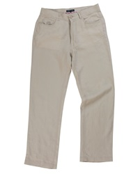 Raging Bull Casual Canvas Trouser Stone