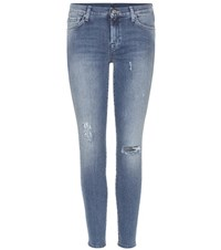 7 For All Mankind The Skinny Crop Jeans Blue