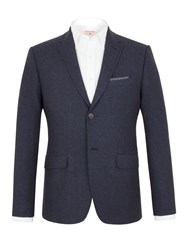 Racing Green Thompson Donegal Tailored Jacket Blue