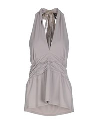 Fabrizio Lenzi Topwear Tops Women Light Grey