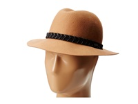 Rvca Rosy Fruits Fedora Tan Fedora Hats