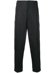 3.1 Phillip Lim Cropped Pleated Trouser Black