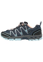 Cmp F.Lli Campagnolo Atlas Wp Hiking Shoes Blue Cristal Peach Fluo Dark Blue