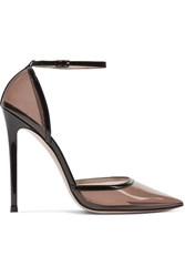 Gianvito Rossi 110 Pvc And Patent Leather Pumps Black