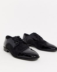 Kg By Kurt Geiger Suede Lace Up Shoe In Black
