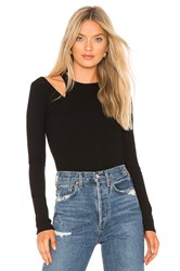 Bailey 44 Happy Together Rib Top Black