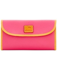 Dooney And Bourke Patterson Continental Clutch Hot Pink