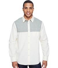 The North Face Long Sleeve Block Me Shirt Thyme Men's Long Sleeve Button Up Green