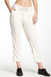 Cj By Cookie Johnson Linen Blend Relaxed Pant Beige
