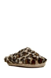 Roxy Sleigh Love Iii Faux Fur Lined Slipper Multi