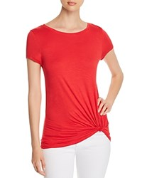 Marc New York Performance Twisted Faux Knot Tee Firecracker