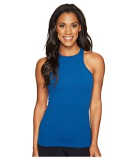 Beyond Yoga Under Lock And Keyhole Tank Top Amalfi Coast Women's Sleeveless Blue