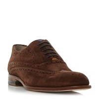 Oliver Sweeney Fellbeck Wingtip Classic Brogue Shoes Brown